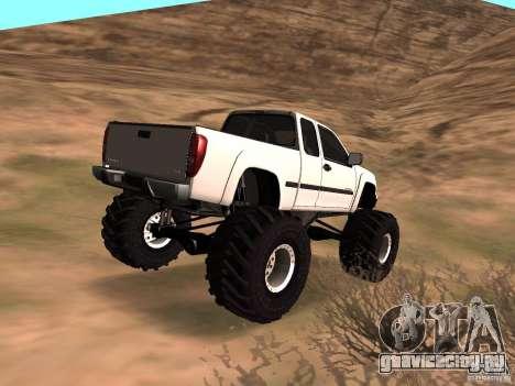 Chevrolet Colorado Monster для GTA San Andreas