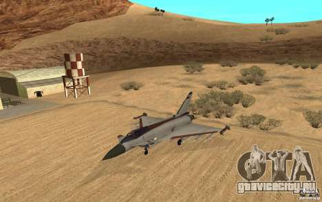 EF-2000 Typhoon V1.3 для GTA San Andreas вид слева