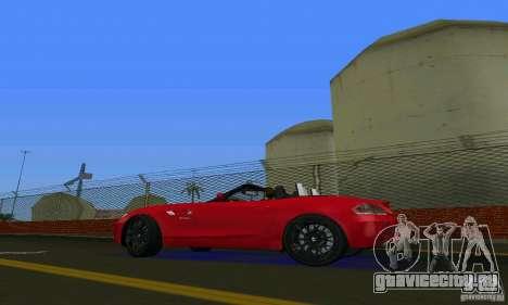 BMW Z4 V10 2011 для GTA Vice City вид справа