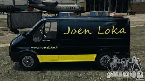 Ford Transit Joen Loka [ELS] для GTA 4 вид слева