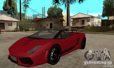 Lamborghini LP570-4 Performante 2011 для GTA San Andreas