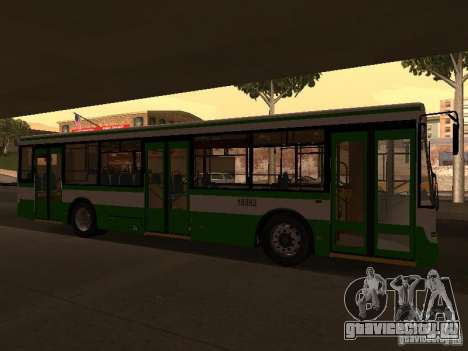 ЛиАЗ 5292.20 для GTA San Andreas вид слева