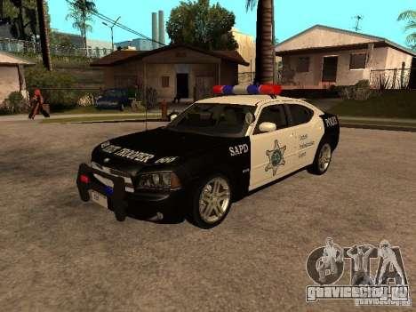 Dodge Charger RT Police для GTA San Andreas
