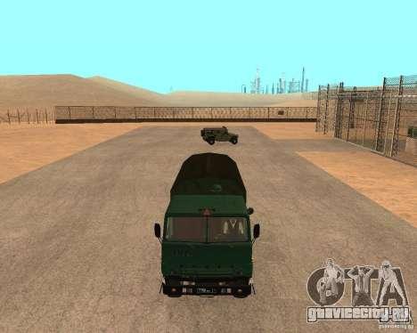 КамАЗ 4310 для GTA San Andreas вид справа