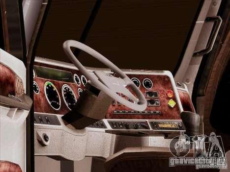 Freightliner Century ST для GTA San Andreas вид снизу