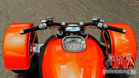 Ducati Diavel Reversetrike для GTA 4 вид справа
