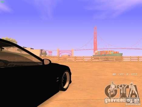 BMW M5 E39 Stanced для GTA San Andreas вид сбоку