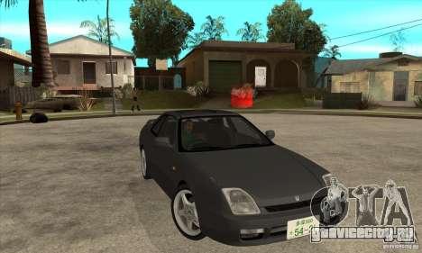 Honda Prelude SiR для GTA San Andreas вид сзади