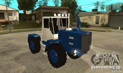 Трактор Т150 для GTA San Andreas вид сзади
