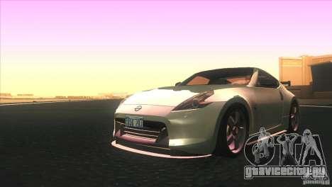 Nissan 370Z Drift 2009 V1.0 для GTA San Andreas