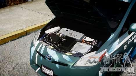 Toyota Prius 2011 PHEV Concept для GTA 4 вид справа