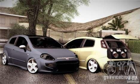 Fiat Punto Evo 2010 Edit для GTA San Andreas вид сбоку