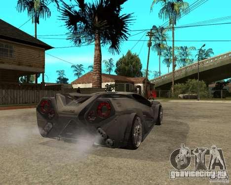 Nemixis для GTA San Andreas вид сзади слева