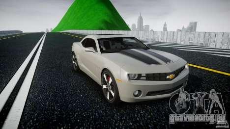 Chevrolet Camaro для GTA 4 вид сзади