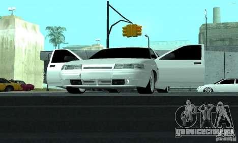 ВАЗ 2112 для GTA San Andreas вид сверху