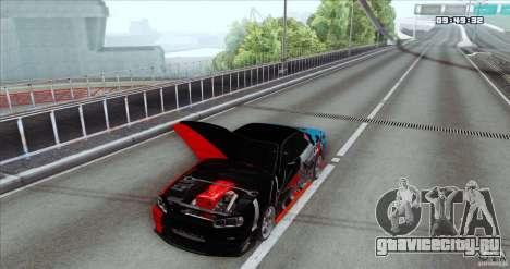 Nissan Skyline R34 Evil Empire для GTA San Andreas вид сзади слева