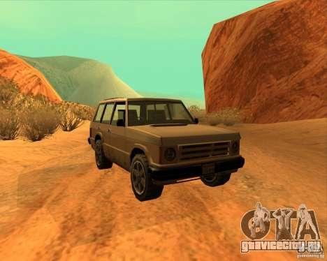 Huntley 1987 San Andreas Stories для GTA San Andreas вид сзади слева