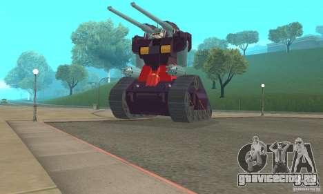 Танк RX-75-4 Guntank для GTA San Andreas