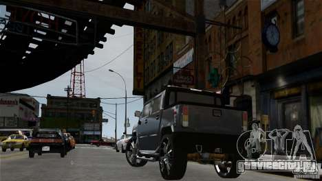 Hummer H2 SUT для GTA 4 вид сзади слева