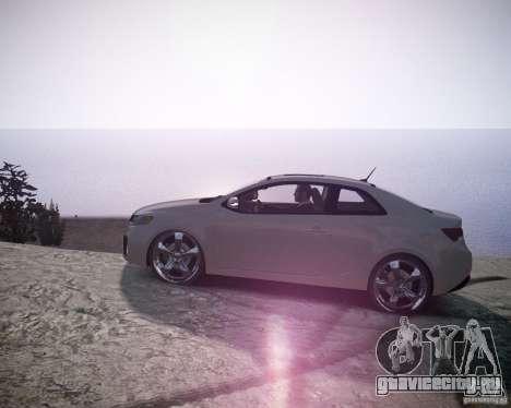 Kia Cerato Koup 2011 для GTA 4 вид слева