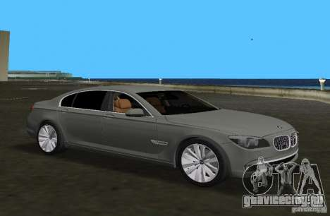 BMW 750 Li для GTA Vice City вид слева