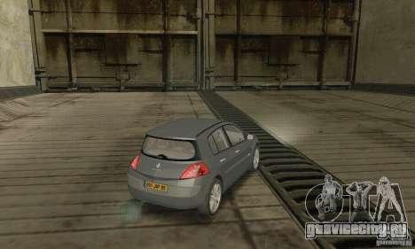 Renault Megane II 2005 для GTA San Andreas вид слева