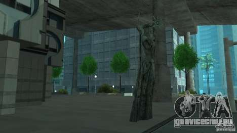 Статуя из Skyrim для GTA San Andreas третий скриншот