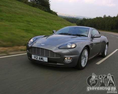 Aston Martin V12 Vanquish 6.0 i V12 48V для GTA Vice City вид справа
