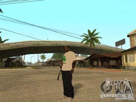 Футболка с Травой для GTA San Andreas второй скриншот
