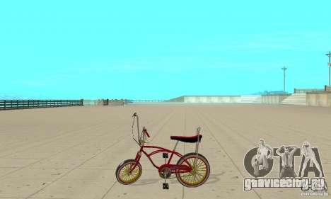 CUSTOM BIKES BMX для GTA San Andreas вид слева