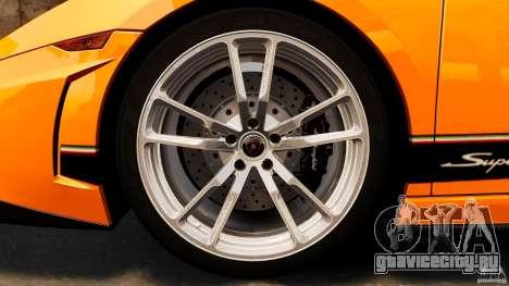 Lamborghini Gallardo LP570-4 Superleggera для GTA 4 вид сверху
