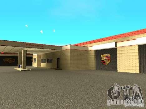 Гараж Porsche для GTA San Andreas шестой скриншот