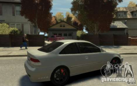 Honda Civic Si 1999 для GTA 4