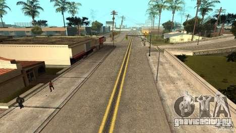 New HQ Roads для GTA San Andreas второй скриншот