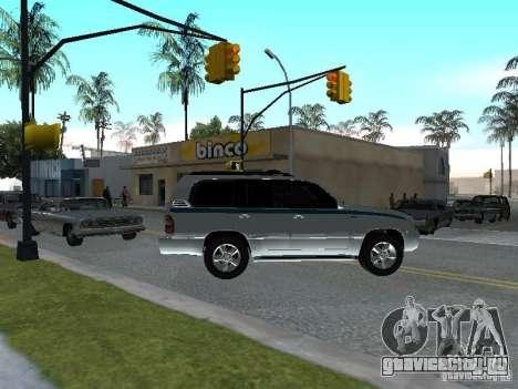 Toyota Land Cruiser 100 VX для GTA San Andreas вид справа