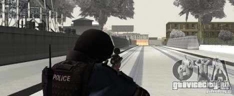 Винтовка из GTA IV для GTA San Andreas четвёртый скриншот