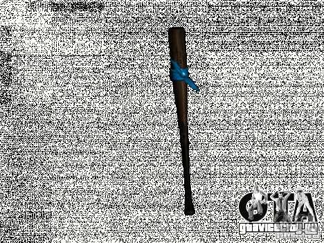 Бита с голубой повязкой для GTA San Andreas