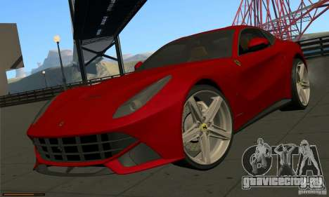 Ferrari F12 Berlinetta BETA для GTA San Andreas