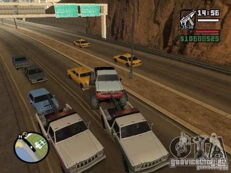 Автомобили с прицепами для GTA San Andreas восьмой скриншот