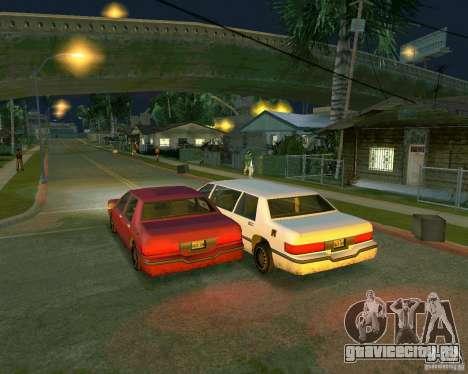 Elegant Limo для GTA San Andreas вид справа