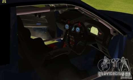 Nissan Skyline R34 GT-R LM для GTA San Andreas колёса