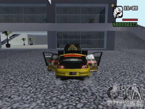 Mazda RX-8 Rockstar для GTA San Andreas вид сзади слева