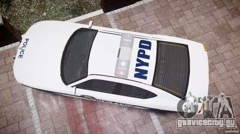 FIB Buffalo NYPD Police для GTA 4 вид сверху