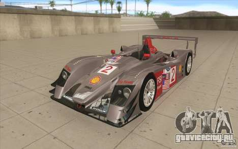 Audi R10 LeMans - Stock для GTA San Andreas