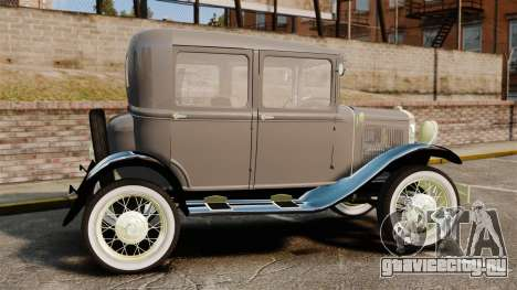 Ford Model T 1927 для GTA 4 вид слева