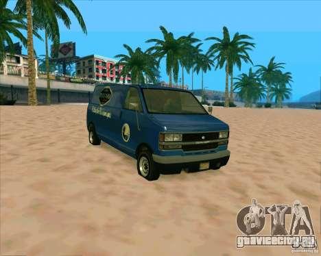 BUGSTARS Burrito from GTA IV для GTA San Andreas вид слева