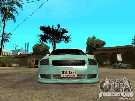 Audi TT для GTA San Andreas