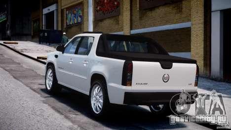 Cadillac Escalade Ext для GTA 4 вид изнутри