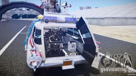 Ecto-1 (Охотники за приведениями) Final для GTA 4 двигатель