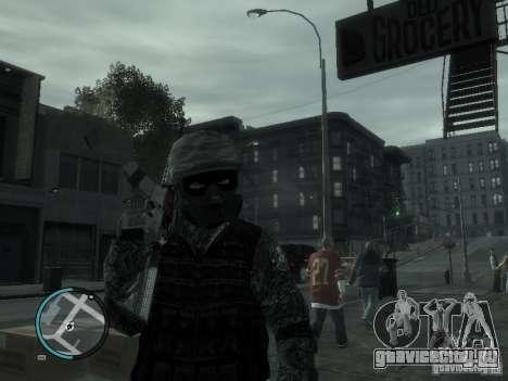 М4А1 для GTA 4 четвёртый скриншот